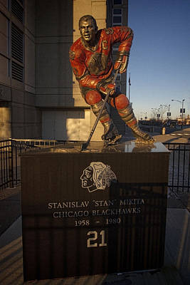 Art Of Hockey Photograph - Stan Mikita Sculpture by Sven Brogren