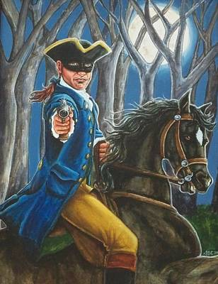 Stand And Deliver Art Print by Beth Clark-McDonal
