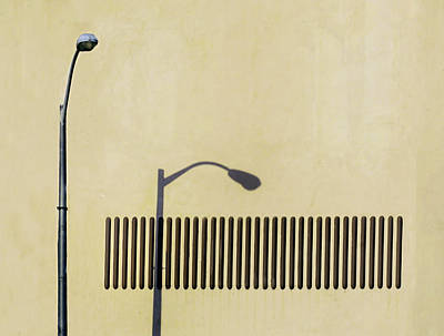 Streetlight Photograph - Stand Tall When The Sky Fall.. by A Rey