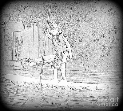 Photograph - Stand Up Paddle  by Susan Garren