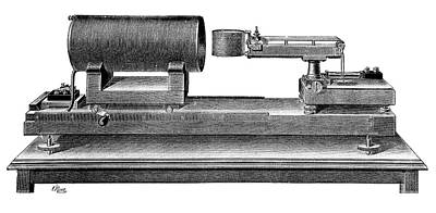 Standard Ampere Print by Science Photo Library