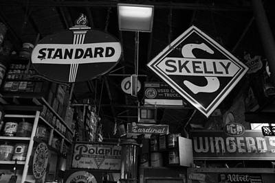 Skelly Photograph - Standard And Skelly Bw by Elizabeth Sullivan