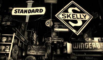 Skelly Photograph - Standard And Skelly Sepia by Elizabeth Sullivan