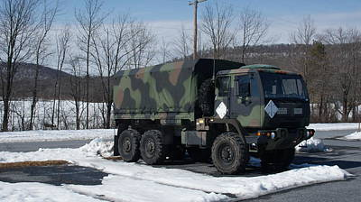 Recon Photograph - Standard Cargo Truck by Rob Luzier