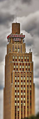 Photograph - Standard Life Building by Jim Albritton