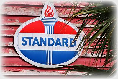 Photograph - Standard Oil Sign by Sheri McLeroy
