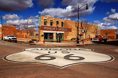 Photograph - Standin' On The Winslow Corner by Daniel Woodrum