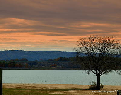 Greers Ferry Lake Photograph - Standing Alone  by Kim Loftis