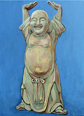 Painting - Standing Happy by Tom Roderick