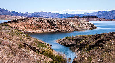 Photograph - Standing In A Ravine At Lake Mead by  Onyonet  Photo Studios