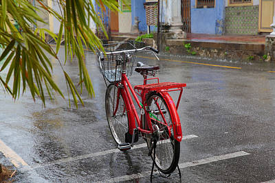 Photograph - Standing In The Rain Penang by Tony Brown