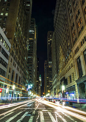 Photograph - Standing In Traffic In New York City by David Morefield