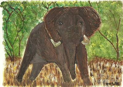 Art Print featuring the painting Standing My Ground by Tracey Williams