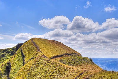 Photograph - Standing On A New Earth - Volcano Masaya by Mark E Tisdale