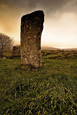 Photograph - Standing Stone by E j Carr