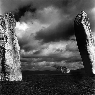 Standing Stones Avebury Art Print by Mark Preston