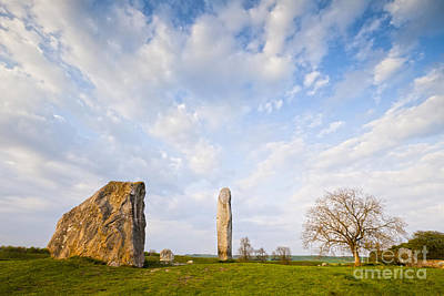 Neolithic Photograph - Standing Stones Avebury Wiltshire by Colin and Linda McKie