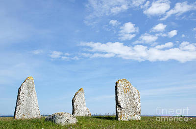 Photograph - Standing Stones by Kennerth and Birgitta Kullman