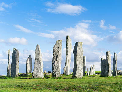 Large Format Photograph - Standing Stones Of Callanish by Martin Zwick