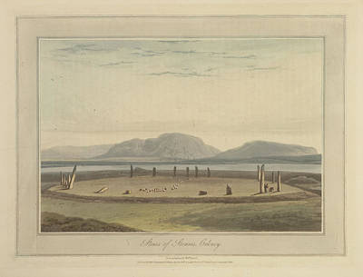 Standing Stones Of Stennis On Orkney Art Print by British Library