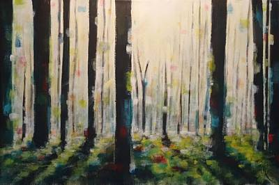 Painting - Into The Woods by Tia Marie McDermid
