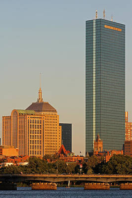 Charles River Photograph - Standing Tallest by Juergen Roth