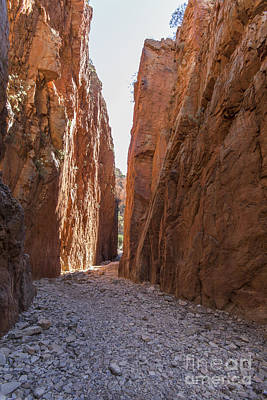 Photograph - Standley Chasm Nt by Linda Lees