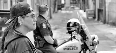 Photograph - Standoff by Douglas Pike