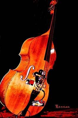 Photograph - Standup Bass by Sadie Reneau