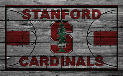 Stanford Wall Art - Photograph - Stanford Cardinals by Joe Hamilton