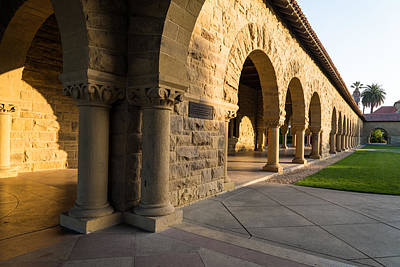 Stanford Photograph - Stanford University Arches by Priya Ghose
