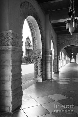 Photograph - Stanford University Main Quad Walkway by University Icons