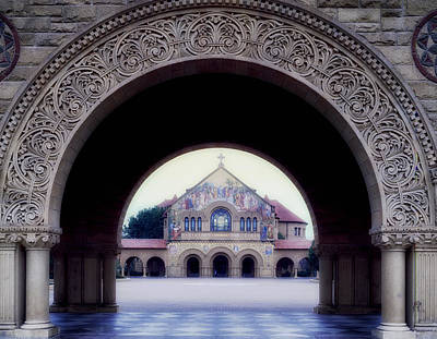 Stanford Wall Art - Photograph - Stanford University Memorial Church by Mountain Dreams
