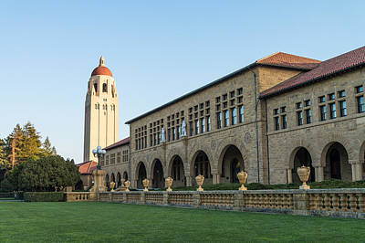 Stanford Photograph - Stanford University  by Priya Ghose