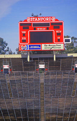 Stanford University Photograph - Stanford University Stadium In Palo by Panoramic Images