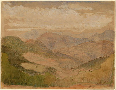 Stanford Drawing - Stanford White, Blue Ridge Mountains, American by Quint Lox