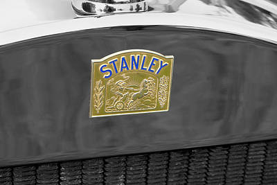 Stanleys Steamers Photograph - Stanley Badge by Adrian Beese