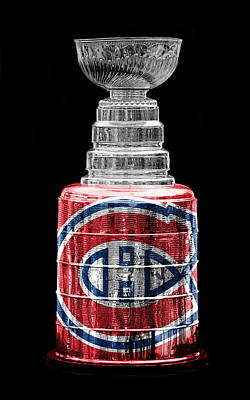 Sports Royalty-Free and Rights-Managed Images - Stanley Cup 7 by Andrew Fare