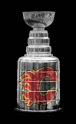 Photograph - Stanley Cup Calgary by Andrew Fare