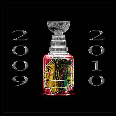 Photograph - Stanley Cup Chicago 2 by Andrew Fare