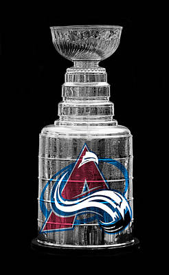 Photograph - Stanley Cup Colorado by Andrew Fare