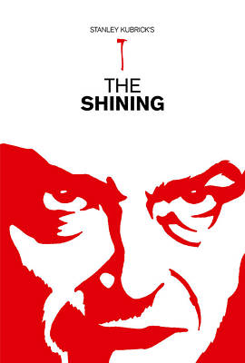 Computer Art Drawing - Stanley Kubrick The Shining Movie Poster by Kevin Trow