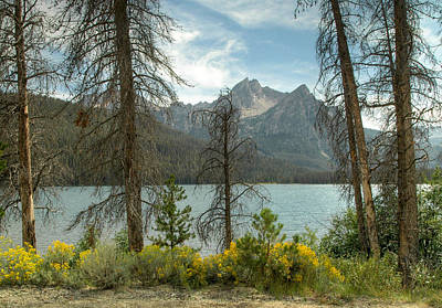 Photograph - Stanley Lake In The Sawtooth National Recreation Area Idaho by Rob Huntley
