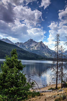 Stanley Lake View Art Print