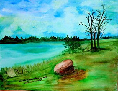 Stanley Park View Original by Ilma Barayuga Doherty