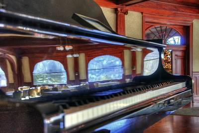 Photograph - Stanley Piano 4051 by Jerry Sodorff