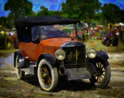 Keck Photograph - Stanley Steamer Automobile by F Leblanc
