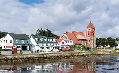 Falkland Islands Photograph - Stanley, The Capital Of The Falkland by Martin Zwick