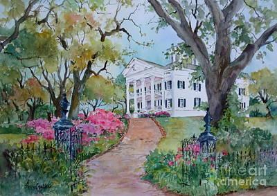 Natchez Painting - Stanton Hall In Natchez by Sherri Crabtree