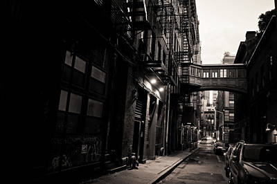 Escape Photograph - Staple Street - Tribeca - New York City by Vivienne Gucwa